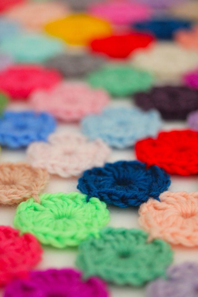crochet a yoyo coverlet