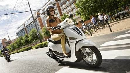 New Yamaha scooter D'elight for European market