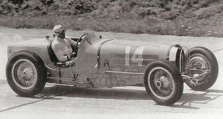 Tazio Nuvolari - Bugatti T59, 1934 French Grand Prix