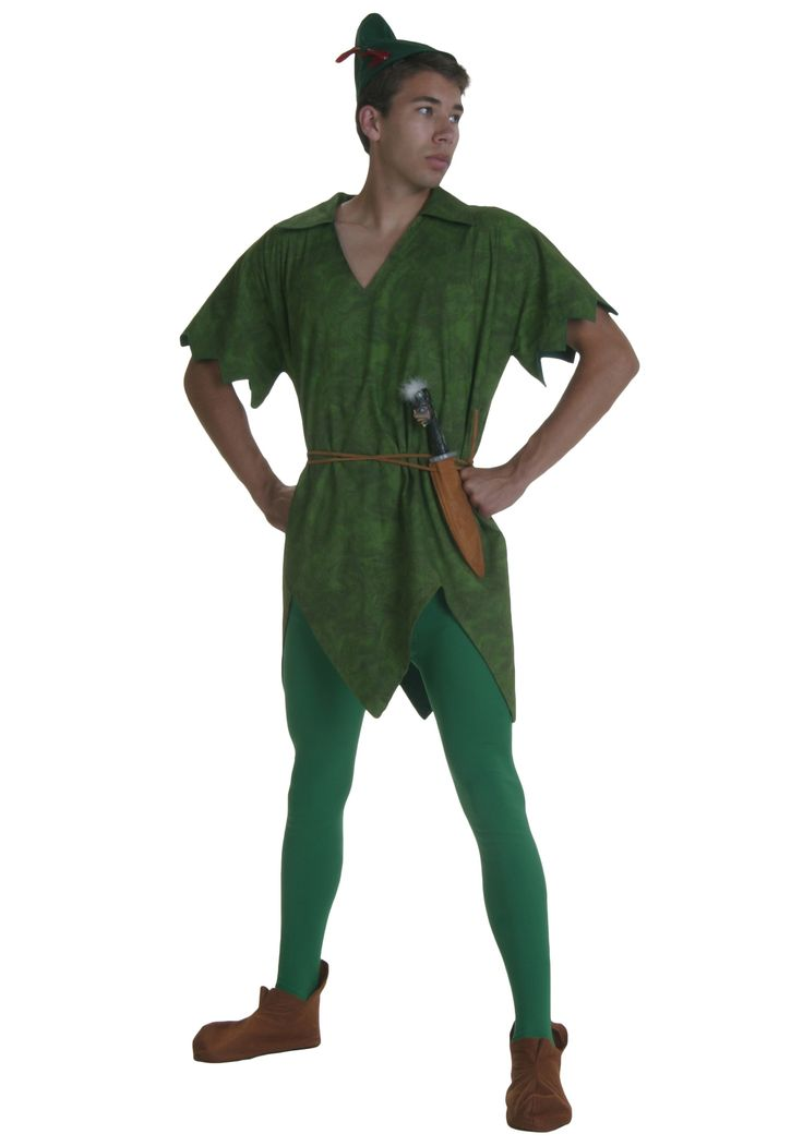 Adult peter pan costume homemade