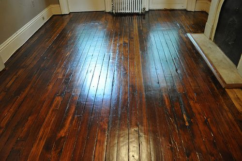 black+stain+for+pine+wood+floor | Stain was Provincial by Minwax on ...