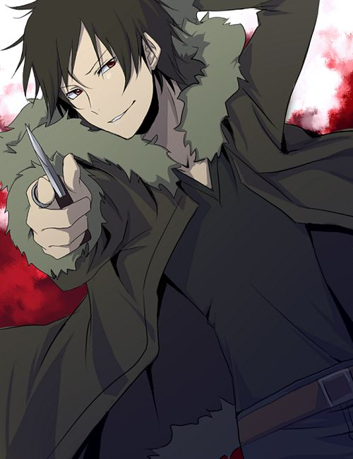 Izaya Orihara Voiced by Hiroshi Kamiya (Japanese), Johnny Yong Bosch (English)  a magician, who uses moon magic.