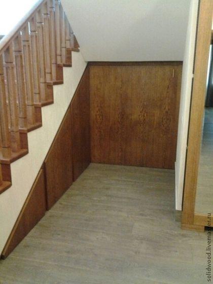 шкафы под лестницей - лестница,шкаф,Шкафчик,полки,Мебель,мебель на заказ