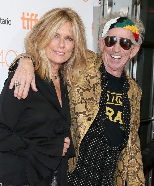Keith Richards and Patti Hansen Photos - 2015 Toronto International Film Festival - 'Keith Richards: Under The Influence' Premiere - Zimbio