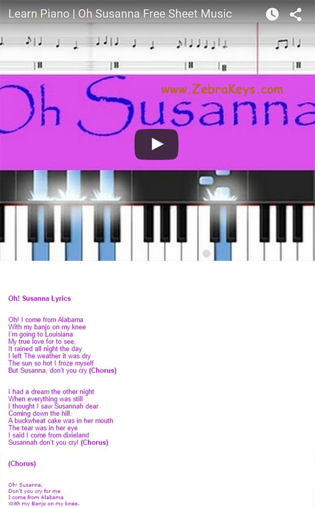 Free Online Piano Lessons - Learn How to Play Piano