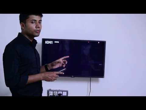 The Problem I'm facing with LG 32 inch Smart TV is demonstrated in this video. source
