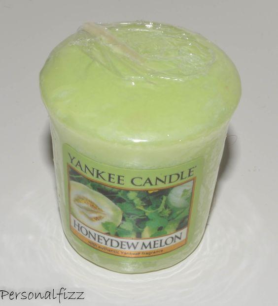 Yankee Candle Votive honeydew melon