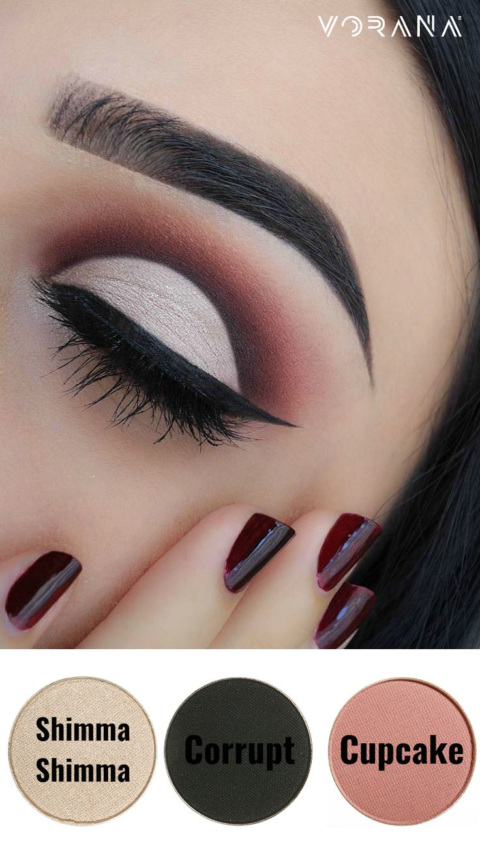 Logra este increíble look con Makeup Geek. #Ojos #Sombras #EyeLook