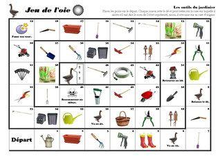 Les outils du jardinier - Fiches de préparations (cycle1-cycle 2-ULIS)