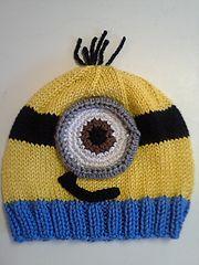Ravelry: Minion Hats pattern by Lauren Irving
