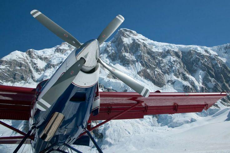 Glacier tour - Mt. Mckinley.
