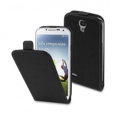Custodia Samsung Galaxy S4 - Slim - Nero - includi Pellicola Protettiva