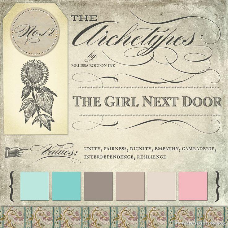 the girl next door archetype in branding #girlnextdoorarchetype #archetypalbranding #archetypes