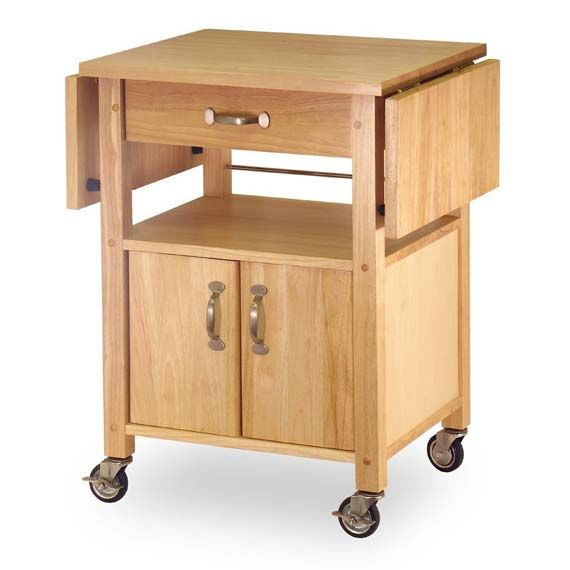 Portable Kitchen Cart Design Minimalist