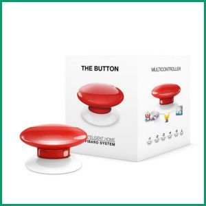 Fibaro Button Z-Wave Plus Scene Controller FGPB-101 - The Smartest House