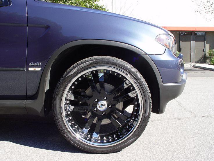 Bmw X5 22 Quot X9 Quot Asanti Black Chrome All 4 Wheels 22