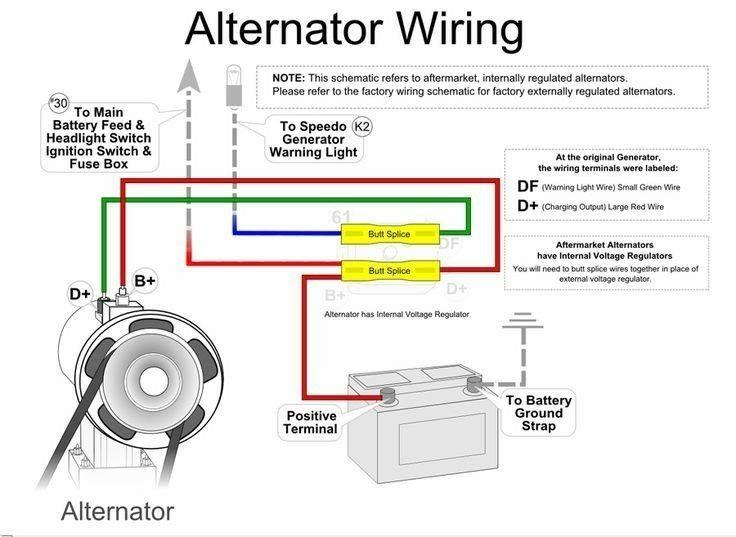 Simple Alternator Wiring Diagram Alternator Automotive Mechanic 7 3 Powerstroke Wiring Diagram Google Search Alternator Car Alternator Automotive Electrical