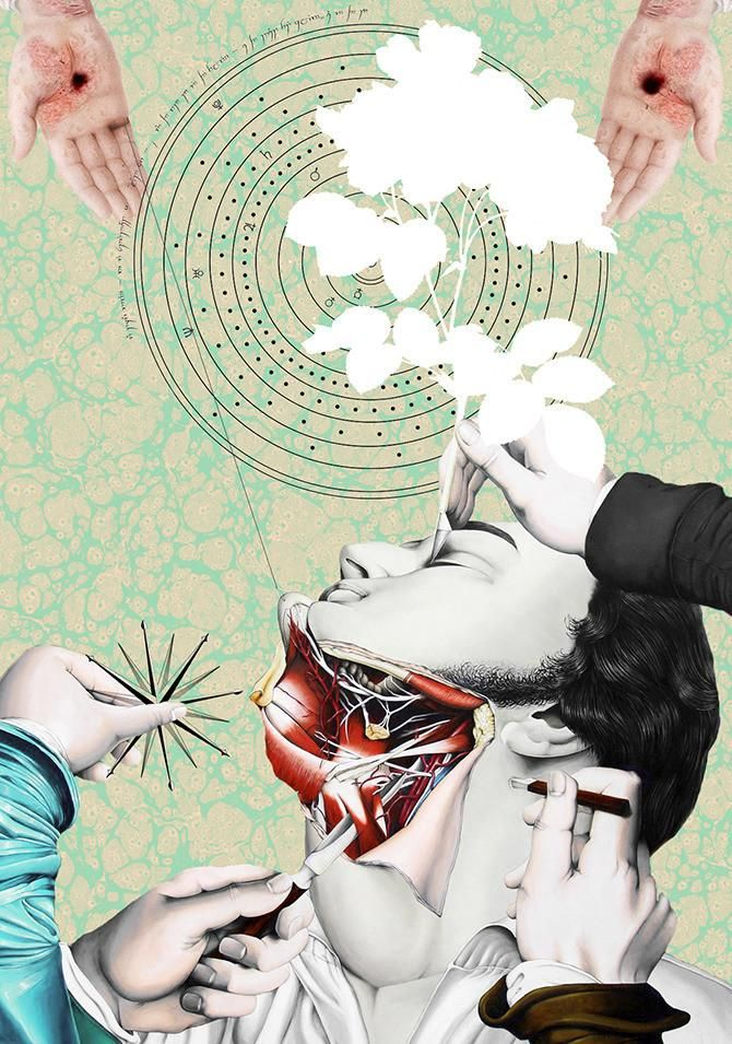 Marla Morgenstern Wants to Dissect Your Reality With Collages | VICE | Sweden
