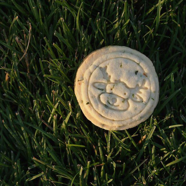 Laskominy od Maryny: Bazalkové máslové sušenky