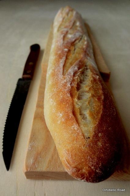 baguette a quasi 70% idratazione, ricetta di pan di pane