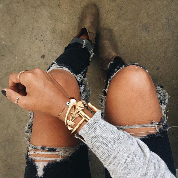 mix-de-pulseiras-grossas-douradas-metalizadas-tendencia