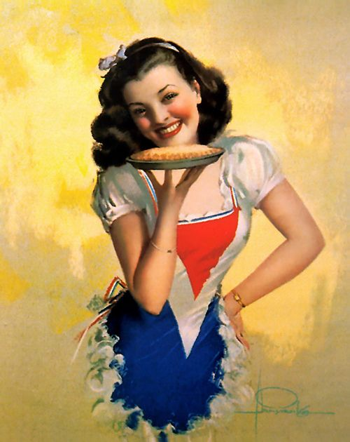 American Pie ~ '40s Housewife pin-up