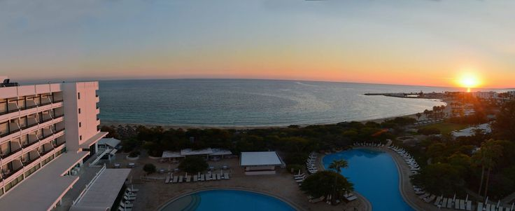 Marvelous sunset view from Grecian Bay Hotel!   #Cyprus #AyiaNapa #seaview http://www.grecianbay.com