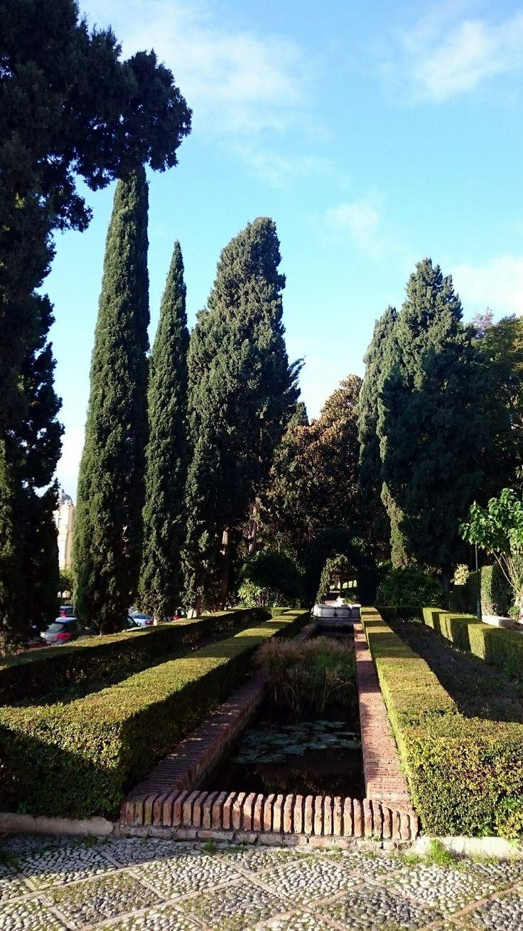 Jardines de Puerta Oscura, Málaga