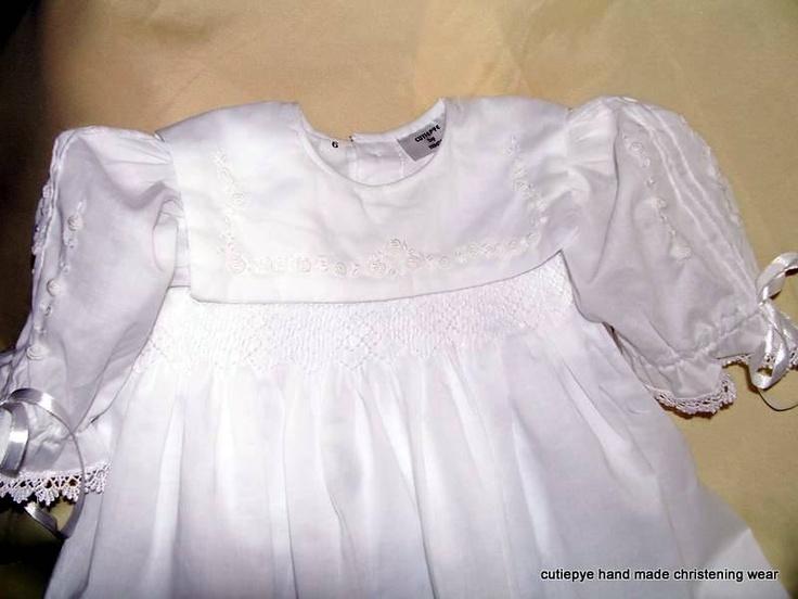 robin is an heirloom smocked gown in muslin created by cutiepye australia 0427820744