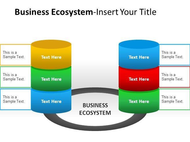 Business Ecosystem Actors Powerpoint Template #PowerPoint #Presentation #PPT #templates #business #diagrams