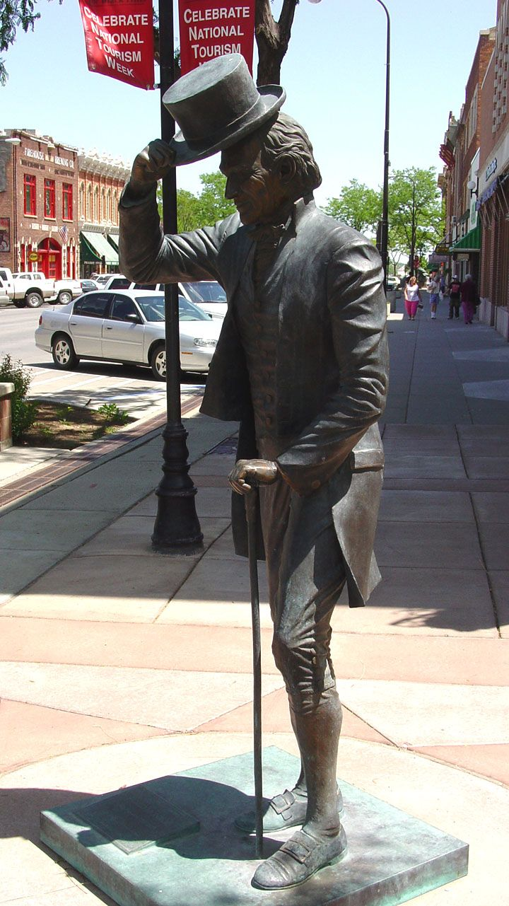 John Quincy Adams, Presidential Walk, Rapid City, South Dakota
