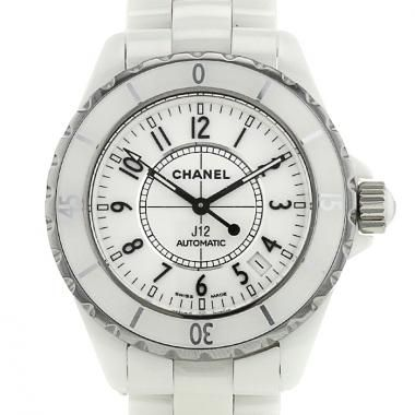 Reloj Chanel J 12 de cerámica blanche