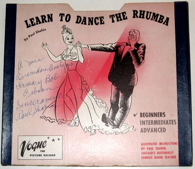 VOGUE PICTURE RECORD 2 Disc Set Rhumba Box w Autographed Cover Complete Inserts [44439] - $599.99 : Vinyl Frontier Music, - Rare Records, CDs, posters, memorabilia, and more:, Vinyl Frontier Music, - Rare Records, CDs, posters, memorabilia, and more: