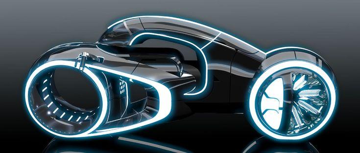 Tron Uprising - Light Cycle design | Designer: Daniel Simon