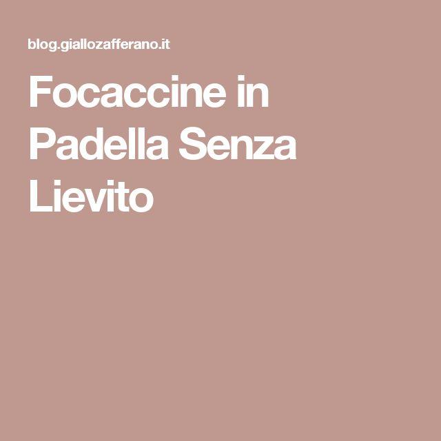 Focaccine in Padella Senza Lievito