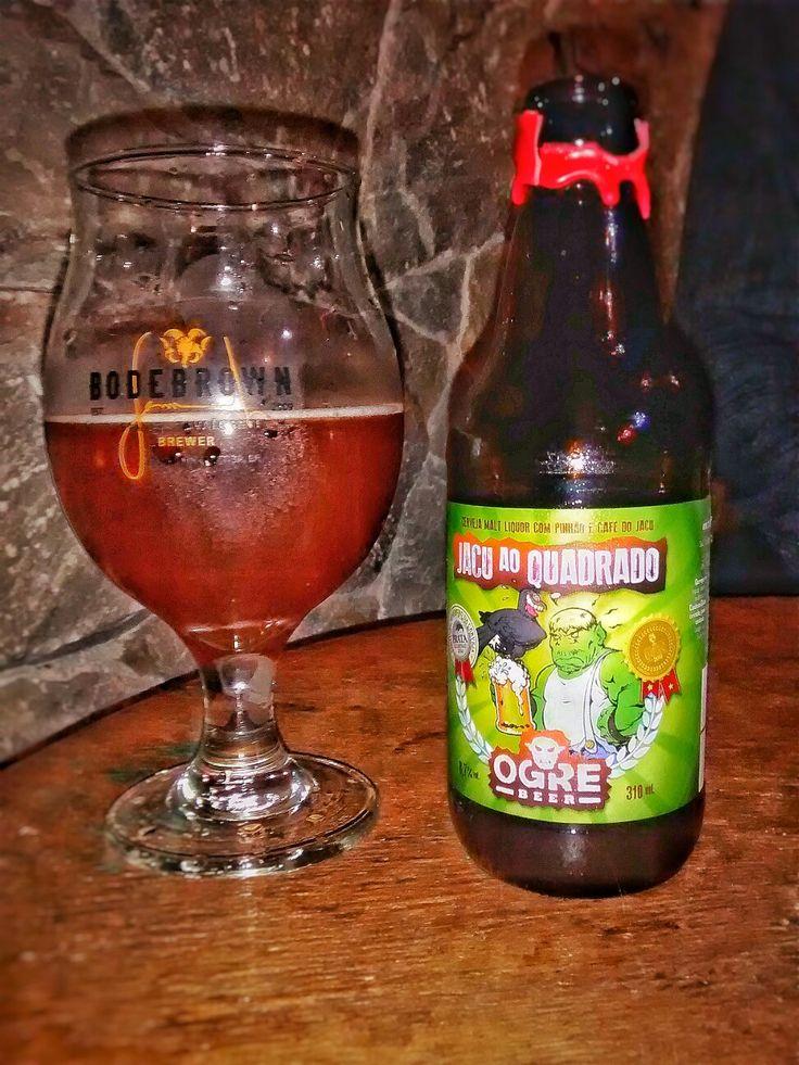 Uma cerveja sazonal da Ogre Beer com 8.7% de álcool e 41 de IBU, a Jacu ao Quadrado leva pinhão, melado de cana e o especial café Jacu Bird. A bebida é uma versão 2016 da premiada Malt Liquor Jacu do Mato – medalhas de ouro e prata no Concurso Brasileiro de cervejas.
