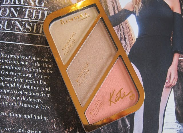 Australian Beauty on Budget: Rimmel Kate Sculpting Palette in Coral Glow Review...