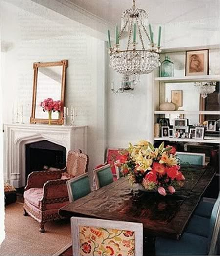 Little Green Notebook: Dining Room Dreaming
