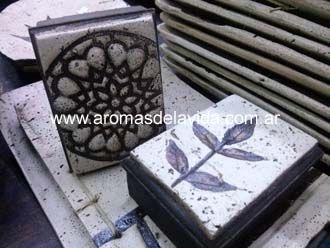 CAJAS ARTESANALES con recubrimiento pasta piedra