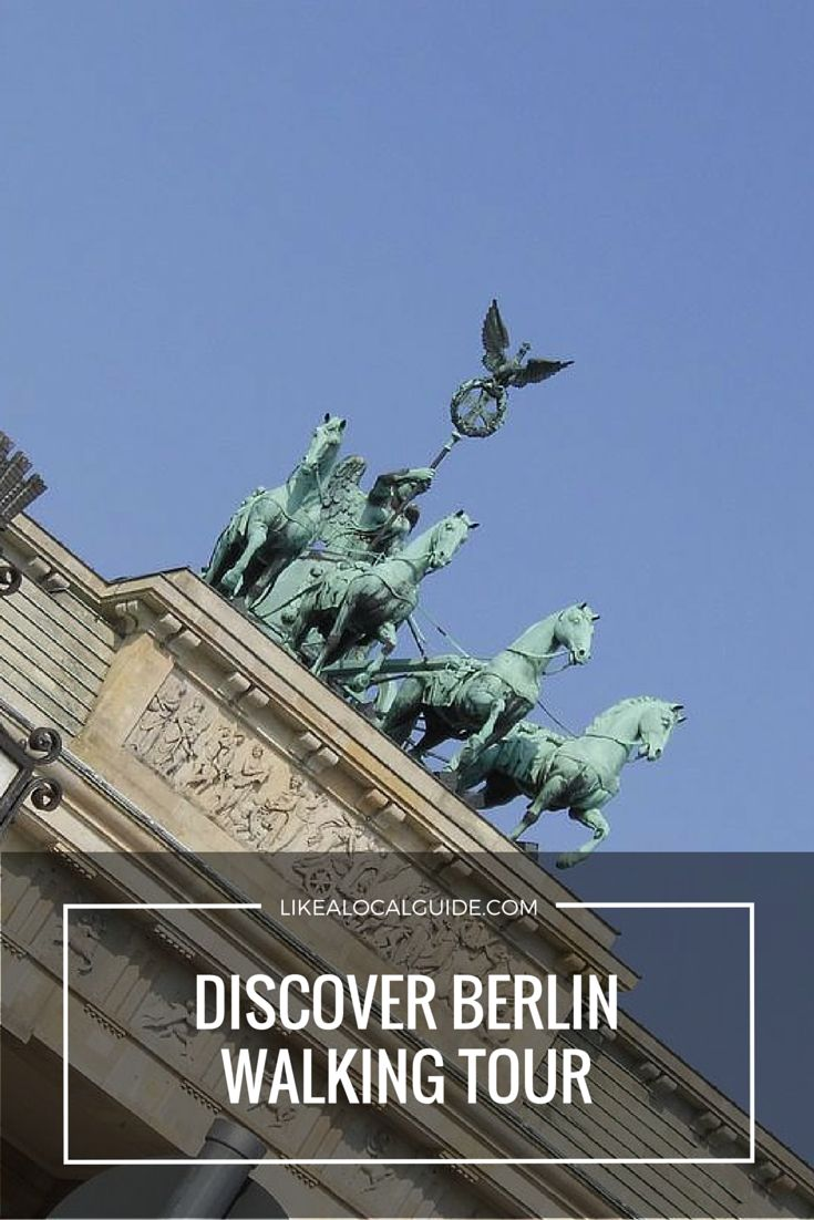 See all the main sights in the centre of Berlin on our all-in-one Discover Berlin Walking Tour. Visit the remains of the Berlin Wall, stand on top of Hitler's bunker, walk through the Brandenburg Gate and more! https://www.likealocalguide.com/berlin/tours/discover-berlin-walking-tour