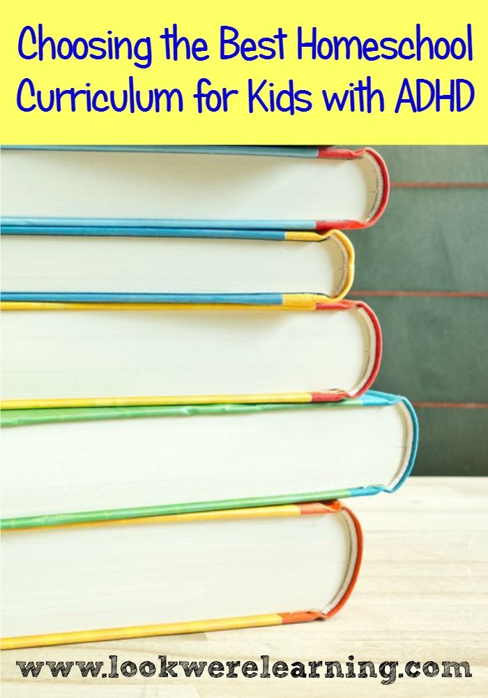 Choosing The Best ADHD Homeschool Curriculum For You