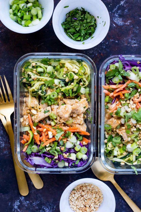 20 Healthy Recipes You Can Meal Prep On Sunday Food Recipes