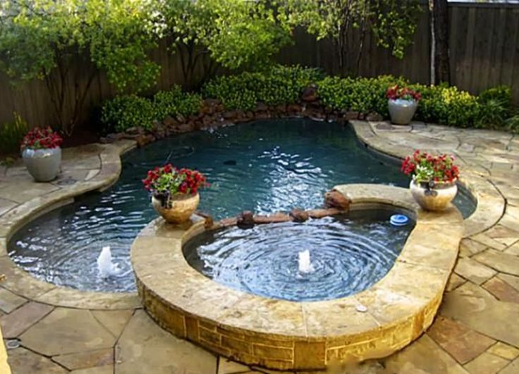 best 25 small backyard pools ideas on pinterest. Black Bedroom Furniture Sets. Home Design Ideas