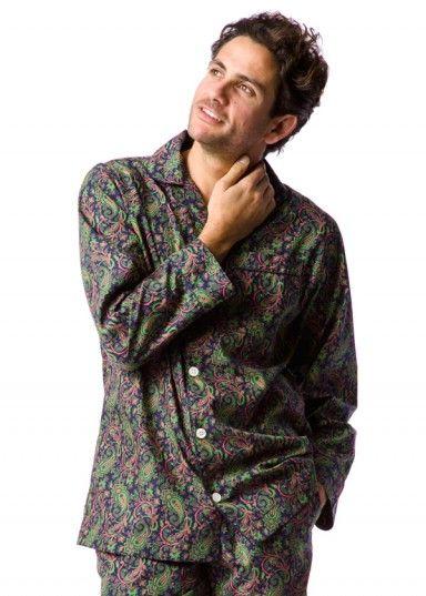 men's paisley pyjamas