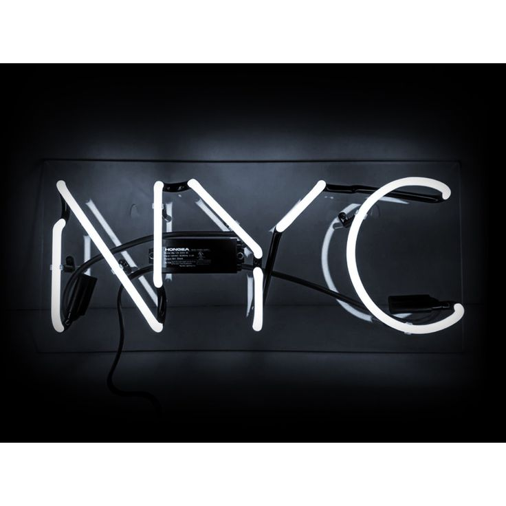Oliver Gal NYC Neon Sign
