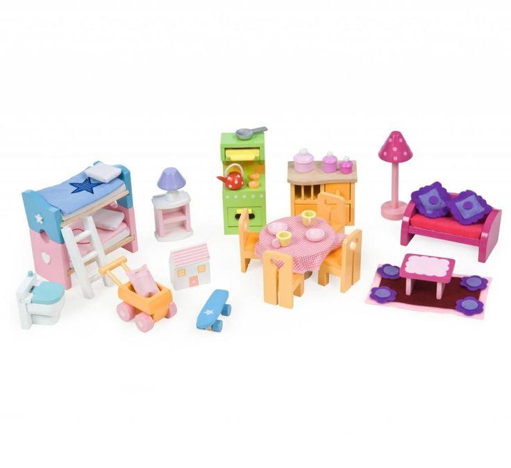 Le Toy Van Poppenhuis Meubeltjes Deluxe Starter Set