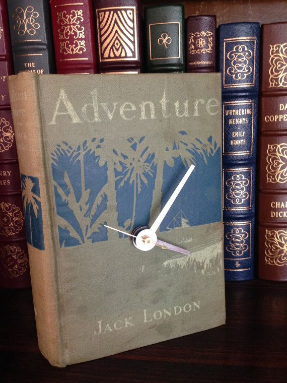 12. Book Clock | Community Post: 20 Perfect Etsy Gifts For Book Lovers In Your Life