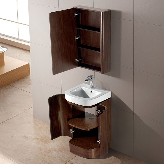 Art Exhibition bathroom wall cabinets and mirrors