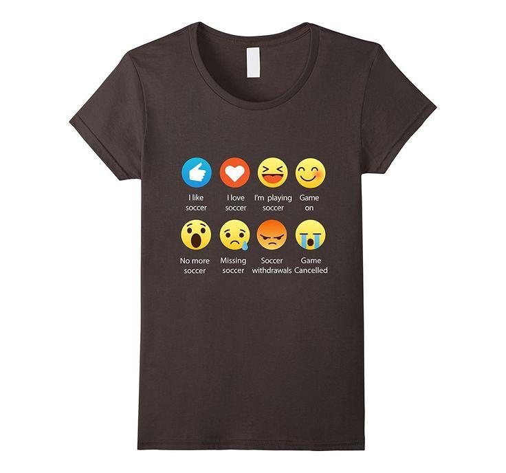 Amazon.com:Emoticon (Emoji) Funny Sayings Shirt: Clothing