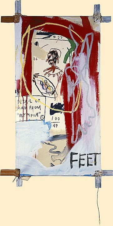 Untitled (Maid from Olympia) - Jean-Michel Basquiat